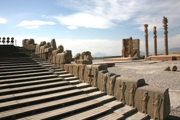 페르시아의 수도 페르세폴리스 전경