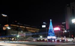 CTS 12월 5일 언택트 행사로 서울시청 광장에 성탄트리 불을 밝힌다!