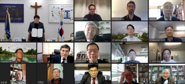 한동대, (사)한국아세안친선협회간의 미네르바형 국제혁신대학 설립을 위한 협약 체결