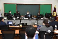 전국법관대표회의 하반기 정기회의가 7일 화상회의로 진행되고 있다. 2020.12.07. (사진=대법원 제공)