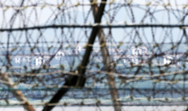 철책선 북한