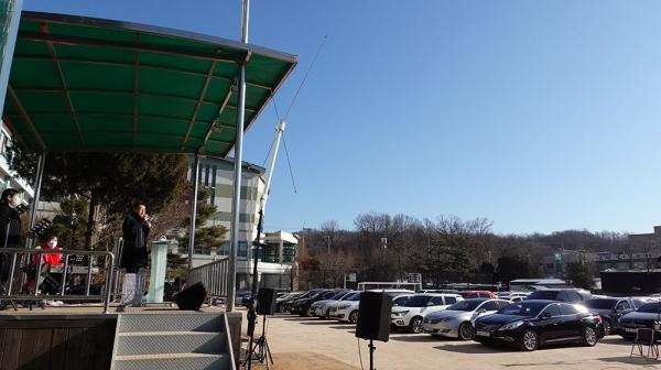 서울씨티교회 드라이브인 워십 성탄주일예배