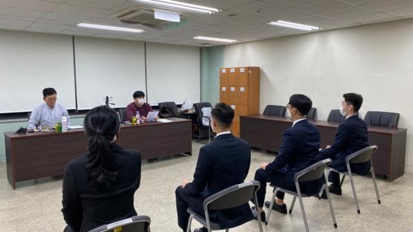 한남대 경찰학과 모의면접