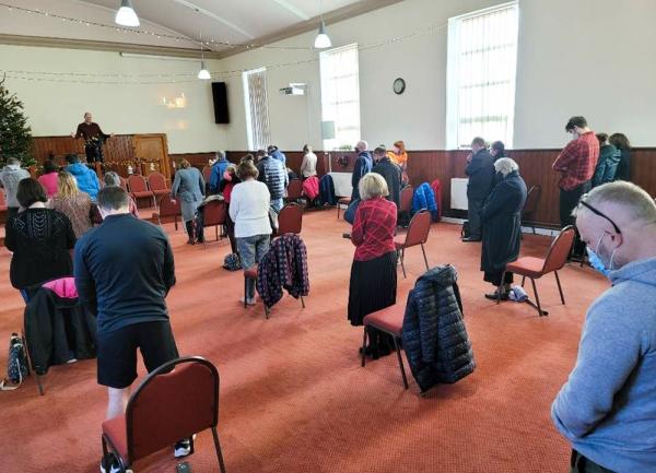 영국 교회 예배
