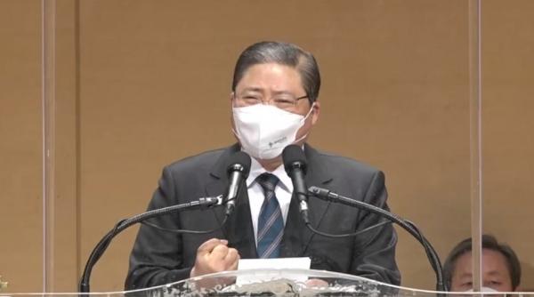 예장합동 총회장 소강석 목사