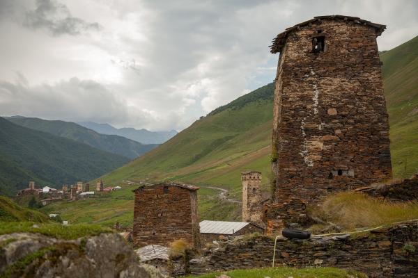 조지아의 산야와 유적