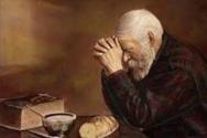 기도하는 할아버지