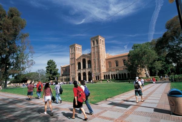미국 대학 캠퍼스의 모습.