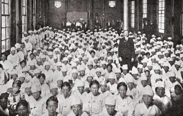1907년 평양 대사경회 당시 모습