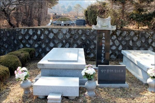 경기도 마석의 모란공원에 마련된 장기려 박사의 묘소