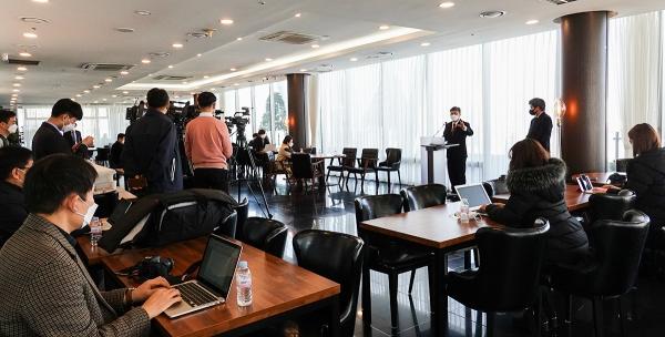27일 KWMA 신임 사무총장 취임 기자간담회가 열렸다.