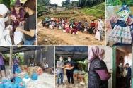 코로나19 장기화로 각국이 재정 위기를 겪고 있으며 식량 위기를 겪는 국가도 많다. 코로나 시대에 성도들과 가난한 이웃들에게 식량과 구호물자를 전달하는 사역이 작년 한 해 활발히 진행됐다.
