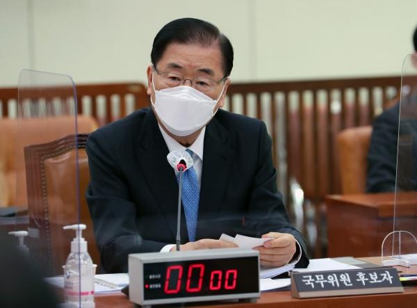 정의용 외교부 장관 후보자