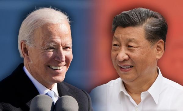조 바이든 미국 대통령과 중국 시진핑 국가주석