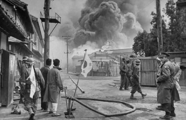 여순사건 진압작전 당시 미 임시군사고문단 장교가 현지에서 작전을 지휘했다