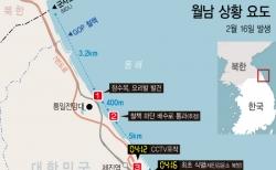 23일 합동참모본부에 따르면 강원 고성군 해안을 통해 귀순한 북한 남성은 북에서 남으로 흐르던 연안 해류를 타고 헤엄을 친 것으로 확인됐다. 이 남성은 북한에서 어업에 종사해 바다에 익숙했던 것으로 나타났다. ⓒ뉴시스