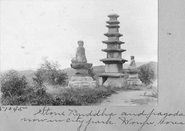 원주 인근 불탑