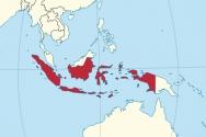인도네시아 지도