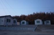 지난 8일 세종시 와촌리 지역에 조립식 주택이 지어 있다는 일명 '벌집'을 찾았다. 해당 주택에서 집주인을 만나기 위해 3시간 정도 기다렸으나 만날 수 없었다. 사진은 이날 저녁 불이 꺼져 인적이 없는 주택 전경. ⓒ뉴시스