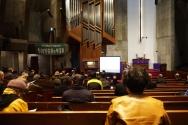 한복협 월례 조찬기도회 및 발표회