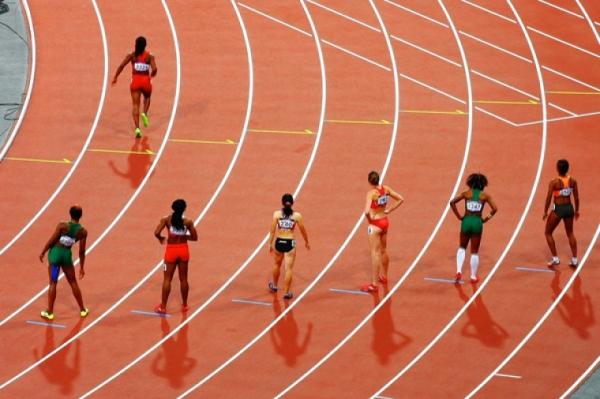 여성 육상 경기