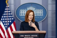 젠 사키 미 백악관 대변인.