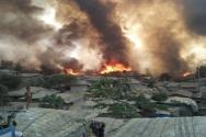 방글라데시 로힝야 난민 캠프