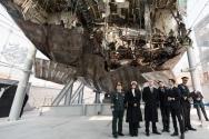 지난 2월 방한한 마이크 펜스 미국 부통령 부부가 평택 2함대 사령부에 있는 서해수호관을 방문하고 북한에 의해 폭침된 천안함 잔해를 둘러봤다. (될수있음 썸네일용으로)
