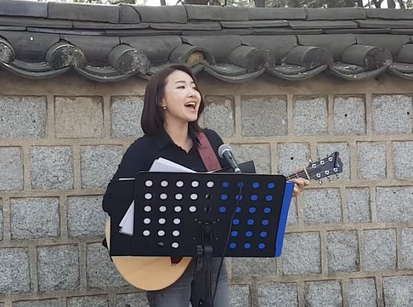 2016년 4월 거리찬양/ '예수로 나의 구주 삼고'