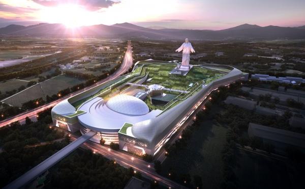 한국기독교기념관 석경조감도