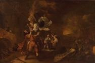 얀 밥티스트 위닉스의 1640년 작품. 할례를 하지 않아 죽을 위기에 놓인 모세와 그의 가족.