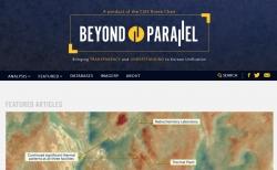 미국 전략국제문제연구소(CSIS) 산하 북한 전문사이트 '분단을 넘어(Beyond Parallel)' 갈무리. 2021.04.21
