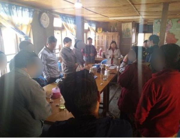 미얀마 기독교인들