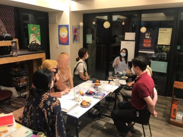2020 우수 청년공동체 금산 '두루미책방' 활동 모습