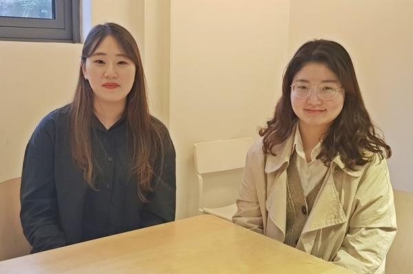 소울브릿지학교 박이슬 교감 선생님(왼쪽)과 김자인 담임 선생님(오른쪽)