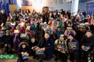 한국VOM 신약 액션 바이블 배포 사역의 목표는 우크라이나 전역에서 고통받는 어린이들에게 복음의 소망과 빛을 가져다주는 것이다.