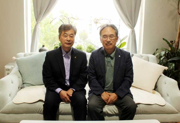 김학송 선교사 박상원 목사