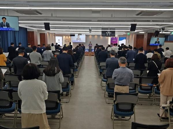 나주글로벌교회 창립감사예배