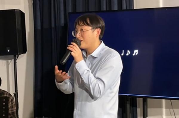 CCM가수 김복유의 특별공연