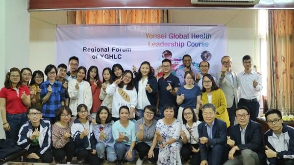 한국, 몽골, 베트남, 캄보디아 학생들을 대상으로 차세대 보건의료 리더를 양성하는 'Yonsei Global Health Course'