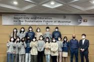 한동대 미얀마 유학생들과 워크샵