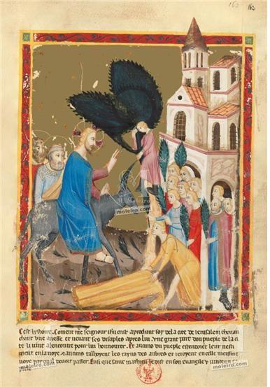 종려주일, 예루살렘 입성, 나폴리복음성경