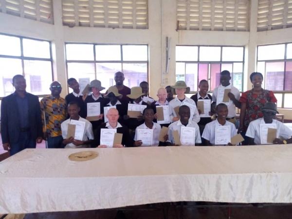 실로암시각장애인복지관, 탄자니아 시각장애학생 75명 대상  '온라인 장학금 수여식' 개최