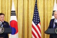 문재인 대통령 조 바이든 대통령