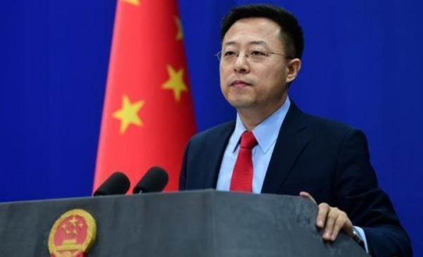 자오리젠 중국 외교부 대변인