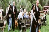 사랑하는 주인의 결혼식을 위해 고통 감내한 강아지
