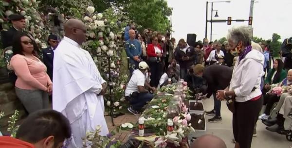 '털사 인종 학살' 100주기 추모 예배가 진행되고 있다