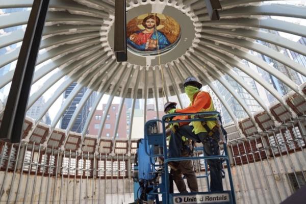 성니콜라스 그리스정교회 성당 911 테러