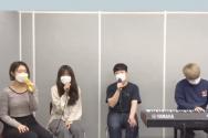 명지전문대학 종강연 예배 모습