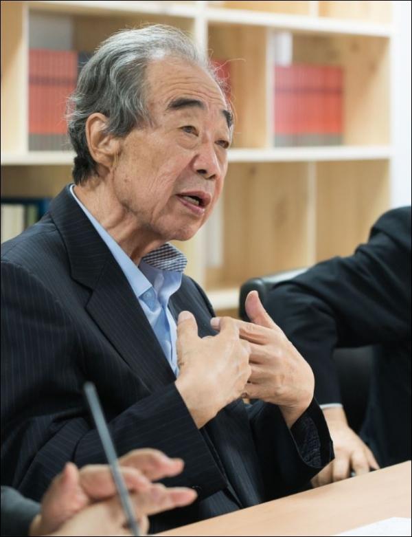 김경재 교수(한신대 명예교수, 문화신학) ⓒ혜암신학연구소 제공